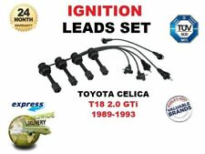 FOR TOYOTA CELICA T18 2.0 GTi 1989-1993 IGNITION LEADS SET OEM 90919-21525