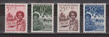 Indonesia Nederlands Nieuw Guinea New Guinea 45 46 47 48 MLH Kinderzegels 1957