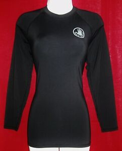 BODY GLOVE WOMEN'S LONG SLEEVE 50+ UPF PROTECT LOGO TOP STRETCHY SIZE XL NWT
