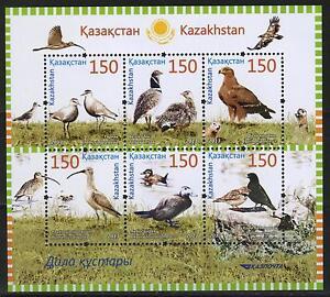 2013.Kazakhstan.BIRDS. Sc.712. M/sheet. MNH