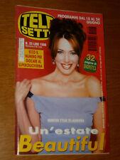 TELESETTE 2000/25=HUNTER TYLO BEAUTIFUL SOAP OPERA COVER MAGAZINE=THIRD WATCH=