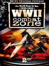 WWII Combat Zone 1939-42 New! 2 DVD Box Set Poland,Pearl Harbor,History German