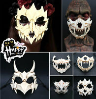 The Mask Of Tiger and Yaksha Halloween Props Cosplay Masks Resin