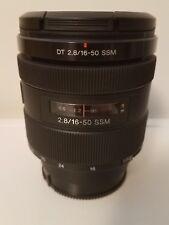 Sony DT 16-50mm f/2.8 SSM Lens SAL1650 A Mount Alpha