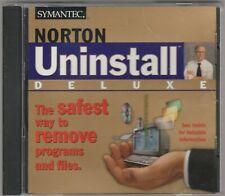 Norton Uninstall Deluxe by Symantec 1997