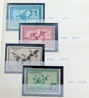 .SUPER RARE LOT !! USA DUCK STAMPS. 39 #RW1 ONWARDS. MNH / MVLH
