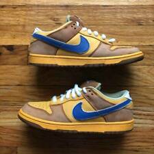 "Size 9 Nike Dunk Low SB Premium ""Newcastle Brown Ale"" 2008 Brown Yellow Travis"