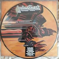 JUDAS PRIEST screaming for vengeance..PICTURE DISC..COLUMBIA-LEGACY  YEARS 2012