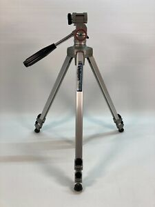 "Velbon Professional Aluminum Adjustable Tripod 22""-60"" Camera Video Photo VE-3C"