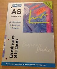 BUSINESS STUDIES AS FAST-TRACK Revision Express Book (Paperback)
