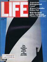 ORIGINAL Vintage Life Magazine July 1980 Cape Hatteras