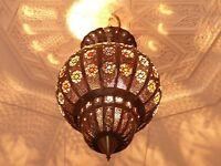 Orientalische Hängelampe Deckenlampe Pendel Lampe Leuchte 1001 Nacht Marrakesch
