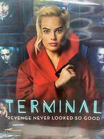 Terminal DVD 2017 Margot Robbie, Simon Pegg, Mike Myers Brand New Factory Sealed