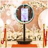 Round Photobooth Mirror Machine Wedding Selfie Magic Photo Mirror Booth