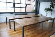 Industrial Vintage Style Rustic Dining Table. Hand Made. Seats 10