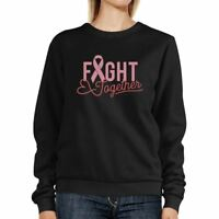 Fight Together Breast Cancer Awareness Black SweatShirt