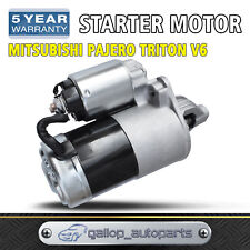 Starter Motor for Mitsubishi Pajero Triton MJ MK V6 3.0 3.5L Petrol 6G72 6G74