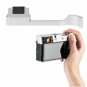 JJC TA-X100V Thumbs Up Grip for Fujifilm X100V X100F and X-E3 Black / Silver NEW