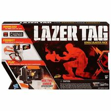 Brand New NERF Lazer Tag SINGLE Blaster Pack ~ Action Laser Combat ~ White