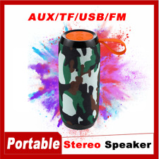 Rechargeable Bluetooth Mini Speaker Wireless Portable Bass Stereo USB/TF/AUX/FM