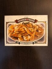 2015-16 UD Champs Ottawa Famous Foods Poutine #FF-9 Brand New