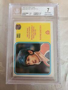 1982-83 O-Pee-Chee Hockey,  WAYNE GRETZKY,  Scoring Leader Card #243, Beckett 7