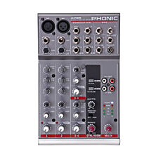 Phonic Am 85 2-mic/line 2-stereo Compact Mixer