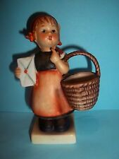 "HUMMEL Meditation Girl with Basket Figurine #13/0 (TMK-4) 4.5""Tall"