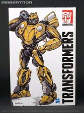Bumblebee Retro Pop Highway Transformers Studio Series + Zauru + Uriad Cassettes