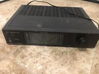 Sanyo Plus Series P-55 Stereo Power Amplifier Tested Working Great condition