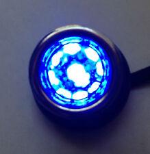 Olds Blue Dot Tail Light Bulb Lamp Lenses Street Rod Chrome Bezel Rings 1157 NOS