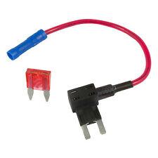 Añadir un circuito Piggy posterior Tapa de fusible Mini Blade Portafusible ATM ATP 12v