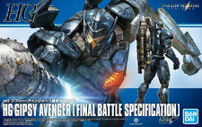 HG PACIFIC RIM Uprising GIPSY AVENGER Final Battle Jaeger Robot Model Kit Bandai
