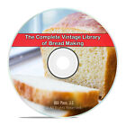 Classic Bread & Bread Making, 75 Books, Bake Recipes Homestead, PDF CD DVD H67