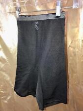 Olga Vtg Black Power Net Thigh Shaper Semi Sheer Size S # 101740