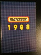 Matchbox Katalog Deutsch - Collectors Catalog 1988 NEU