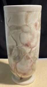"""Rookwood Pottery 1946 Loretta Holtkamp Artist Signed 9 9 1/4"""" Vase - Pears Gloss"""