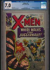 MARVEL COMICS X-MEN #13 1965 CGC 7.0 WP 2nd JUGGERNAUT APPEARANCE KIRBY COVER