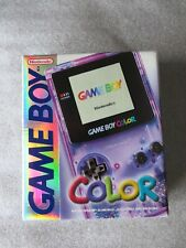 Mint! Nintendo Game Boy Color Klar purple lila Clear New GBC Unbespielt Unplayed
