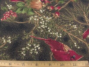 Winter Magic by Hoffman/Style #8821-Cardinals/1.5yds./100% Cotton