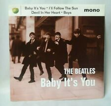 "THE BEATLES  ""BABY IT'S YOU""7"" EP APPLE NR 7243 8 58348 1 3 NM/NM"