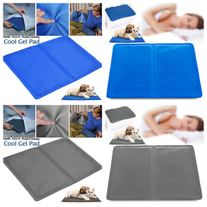 COOLING GEL PILLOW PAD MAT LAPTOP CUSHION YOGA PET BED SOFA HOT FLUSH MIGRAINE