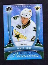 2009-10 Upper Deck Trilogy #166 Jamie Benn RC Rookie Card