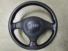 S3 volante de cuero volante S-line airbag original audi s3 8l 3 radios 8l0419091m