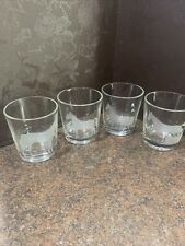 New listing 4 Etched Horse Tumblers