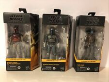 STAR WARS CLONE WARS BLACK SERIES lot.    Ships free!!