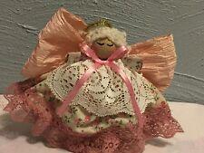 Handmade Clothespin Angel Doll