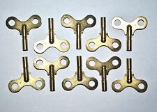"10 - Replacement Windup Toy Keys - Brass - ""For Windup Toys""  Large Marx Toys"