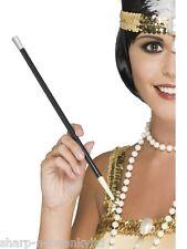 MUJER NEGRO AÑOS 20 Flapper Charleston Disfraz Boquilla De Cigarro Disfraz Stick