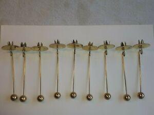 Vintage * Balance- *  Kerzenhalter * Pendelkerzenhalter * Metall Gold Retro